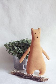 Little Brown Bear :: Handmade