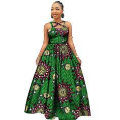 Elegant Women African Dashiki Long Dress
