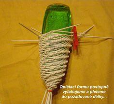 Návod na štolu - Papírové pletení