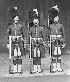 The Queen's Own Cameron Highlanders:    The Cameron Highlanders formed their own 2nd Bn in 1897.  As the only single Bn regiment in the line infantry (it's a complicated story on how that happened back in 1881), the War Office in 1897 originally wanted to make the Camerons into a 3rd Bn of Scots Guards. Instead, through the influence of Donald Cameron of Lochiel, MP and chief of Clan Cameron, as well as the insistence of the Queen, the Cameron Highlanders survived to became a two Bn…