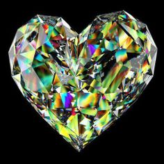 CRYSTAL PRISM HEART