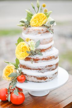 1000 Images About Unfrosted Wedding Cakes On Pinterest Wedding Cakes Rustic Wedding Cakes