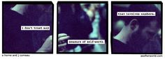 I can get behind that system. (A Softer World Comics, by Joey Cameau and Emily Horne)