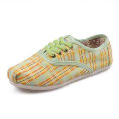 Toms Cordones Check Yellow Shoes for Women Toms Canvas Shoes, Toms Shoes Sale, Toms Boots, Cheap Toms Shoes, Toms Outlet, Orange Shoes, Men's Toms, Wholesale Shoes, Discount Toms
