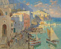 Art Contrarian: Konstantin Gorbatov: A Very 1920s Painter