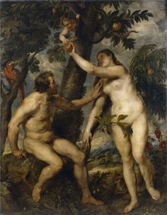 Peter Paul Rubens, Adam and Eve, 1628-1629