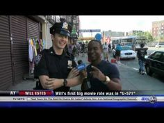 On the set of Blue Bloods with Will Estes - I love this guy!