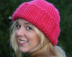 Super bulky equals super warm, which makes this a perfect hat for those freezing winter months.