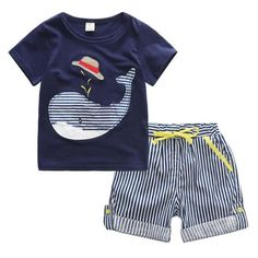 Cheap pants classic, Buy Quality pants costume directly from China pants linen Suppliers: Cotton Kids Boys Clothes Children Clothing Sets Summer Baby Boy Clothes Cute Whale Children's Sets T-Shirt Denim Pants Baby Boy Clothing Sets, Newborn Boy Clothes, Baby Outfits Newborn, Kids Clothing, Infant Clothing, Boy Newborn, Children Clothes Boys, Guy Clothes, Summer Clothing
