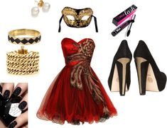 """""""Special occassion Masquarade! (under $200)"""" by chasethelife on Polyvore"""