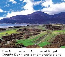 The Mountains of Mourne, County Down, N.Ireland