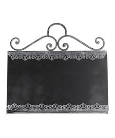 Announce your treats artfully, I found this on #zulily! Decorative Chalkboard #zulilyfinds