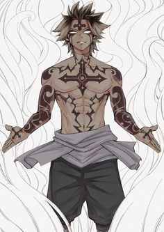 Fairy Tail - Larcade Dragneel '' I am a pure white soul... ''