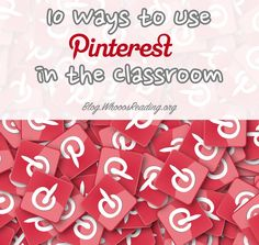 10 Ways to Use Pinterest in the Classroom High School First Day, Classroom Decor Themes, Classroom Resources, Bulletin Board Tree, Most Popular Social Media, School Videos, Schools First, Educational Technology, Special Education