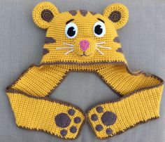 Daniel Tiger hat. listing 13099 by Ambercraftstore on Etsy
