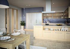 Posuvné dveře Sapeli - HARMONIE dýha jasan Decor, Table, Furniture, Kitchen, Kitchen Island, Home Decor