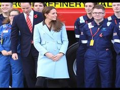 Duke and Duchess of Cambridge visit an oil refinery in Wales Check out K...