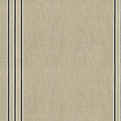 Odeon Stripe 8 Black Fabric by Ian Mankin Curtain Box, Curtain Fabric, Caravan Curtains, Made To Measure Curtains, Buy Fabric, Roman Blinds, Cushion Fabric, Striped Fabrics, Fabric Samples