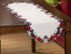 American Stars Table Runner July 4th Decoration - $7.99!