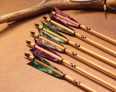True Instinct Arrows - White Wolf Archery