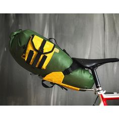 Bike Packing, Bike Bag, Looks Cool, Mtb, Touring, Saddle Bags, Cycling, Bicycle, Leather
