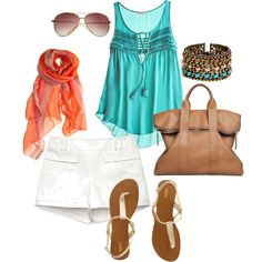 Summer, created by lisamikes on Polyvore