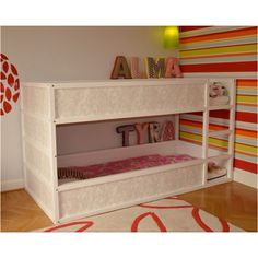 Low profile bunk beds