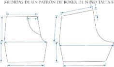 Resultado de imagen para boxer de caballeros patrones gratis