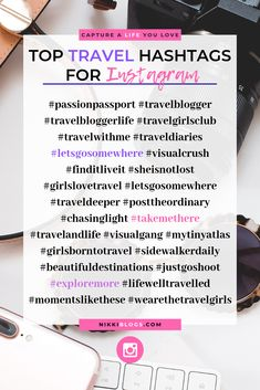 Discover the best popular Travel Hashtags for Inst Social Media Content, Social Media Tips, Social Media Marketing, Instagram Marketing Tips, Instagram Tips, Instagram Caption, Girls Love Travel, Social Media Calendar, Instagram Influencer