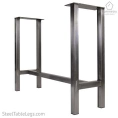 Industrial Metal Table Base Dining height Counter height