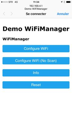 wifimanager 2 fonctions connexion