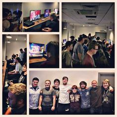 It's nearly time! OVERWATCH NIGHT! (Here's a shot from last time) #overwatch #blizzard #GAME #gaming #nottingham #xbox #eatdrinkplay #altgaminglounge