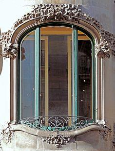 Barcelona - Provença 267 c  Casa Rosa Vilar  Architect: Enric Sagnier i Villavecchia