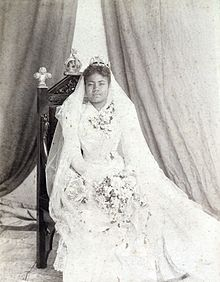Lavinia Veiongo Fotu (9 February 1879 – 24 April 1902) was the Queen consort of Tonga from 1899 to 1902, and the first wife of George Tupou II.