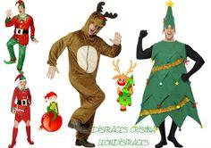 Funny costume.  Disfraces divertidos para Navidad