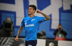 Emiliano Rigoni scored a hat-trick in a 3-1 victory over Rosenborg for Zenit St Petersburg