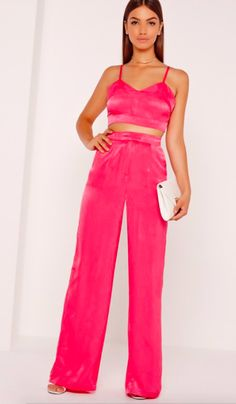 Missguided Pink Coord Suit $90.00