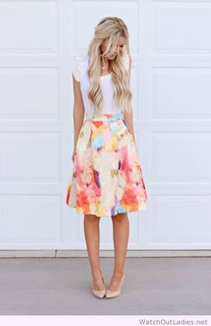 Wonderful watercolor midi
