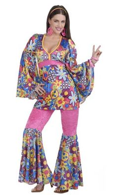 Hippie Flower Child Adult Costume