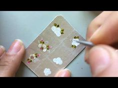 Adesivos de unhas na caixa de leite: Passo a passo flores - YouTube Bullet Journal Aesthetic, Nail Supply, Fancy Nails, Black Nails, Manicure And Pedicure, Triangle, Nail Art, Make It Yourself, Blog