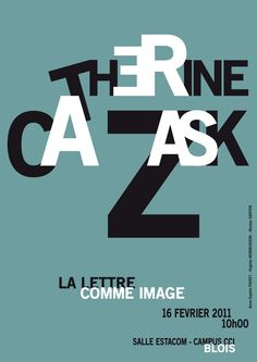 "students' works ""à la manière de Catherine Zask"""