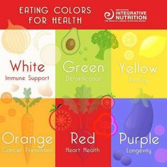 Eating color for health...