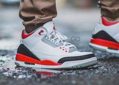 Nike Air Jordan III 'Fire Red' (by sgo8) on http://SneakersCartel.com | #sneakers #shoes #kicks #jordan #lebron #nba #nike #adidas #reebok #airjordan #sneakerhead #fashion #sneakerscartel