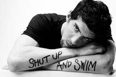 I miss the Olympics.. and Michael Phelps.(photographed by Michael Muller)