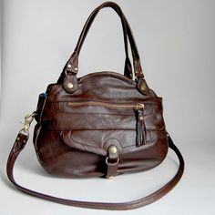 4 pocket Oaxaca bag in espresso brown