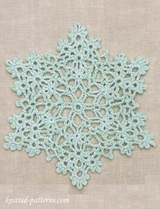 Snowflake Doily: Free Crochet Pattern wish my Grandma Edie were here she would made these for me
