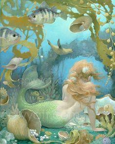 ♒ Mermaids Among Us ♒ art photography & paintings of sea sirens & water maidens - Sea of Jewels