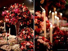 Resultado de imagem para decoração casamento rosa chá e marsala com móveis brancos e marrom