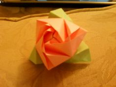 Box Rose Origami