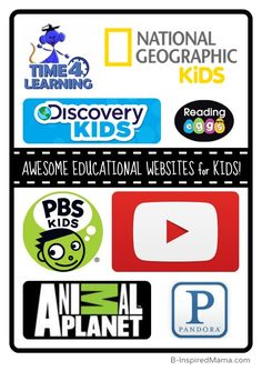 B-Inspired Mama's Top Picks for Educational Websites for Kids